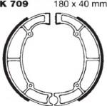 Тормозные колодки в барабанный тормоз EBC (2 шт.) K709, Kawasaki, производитель EBC (Англия)